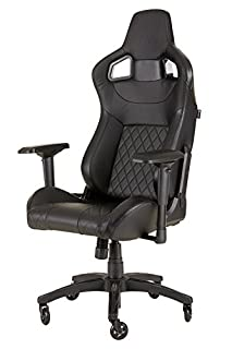 Corsair T1 Race Silla para Juegos, Polipiel, Negro, 58x58x134 cm (B077HDH76X) | Amazon Products