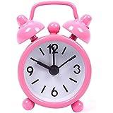 Nueva Patria En Exteriores beweglicher adorable nette Caricatura Número elegir redondas escritorio Alarma Mini Clock