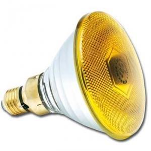 SYLVANIA - LAMP80P38SY Halogen Lampe, 80W, 240V, PAR38, E27, FL 30 grad, Gelb 143957 -