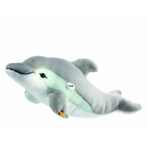 Steiff 063183 - Cappy Delphin, grau / weiß, 35 cm
