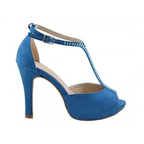 Benavente, Scarpe col tacco donna Blu