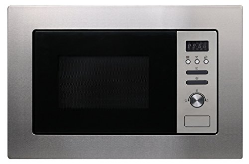 Cookology Built-in Microwave in Stainless Steel | Integrated BM20LIX 20 Litre