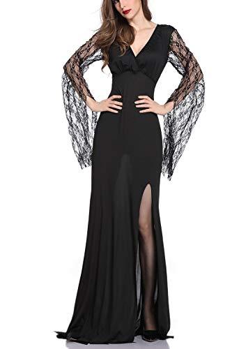 Zojuyozio le donne halloween sposa zombie vestito cosplay festa in costume vestiti black one size