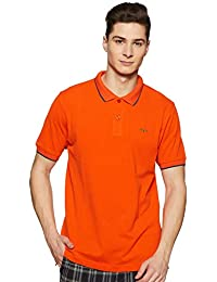 Colorplus Men's Solid Regular Fit Polo