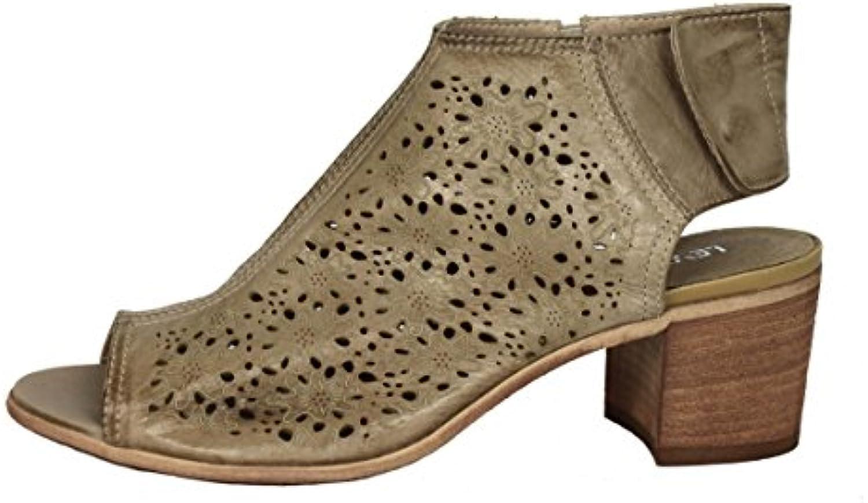Leviatan Damenschuhe Shoe Sandaletten Made in Italy Gr.35-40 7801B beige