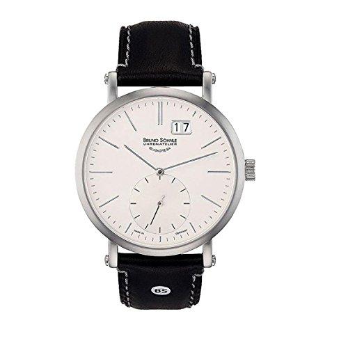 Bruno Söhnle Herren Analog Quarz Uhr mit Leder Armband 17-13095-241