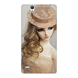 Stylish Royal Doll Multicolor Back Case Cover for Sony Xperia C4