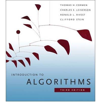 Introduction to Algorithms [Paperback]
