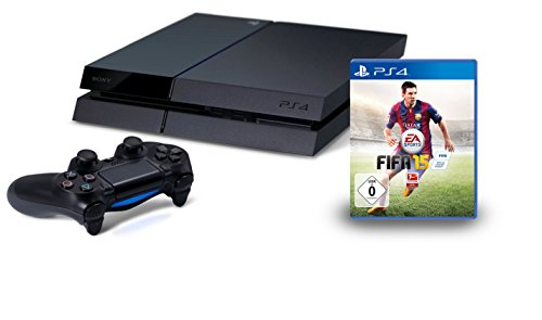 PlayStation 4 - Konsole inkl. FIFA 15 - Bundle Ps Sony Vita