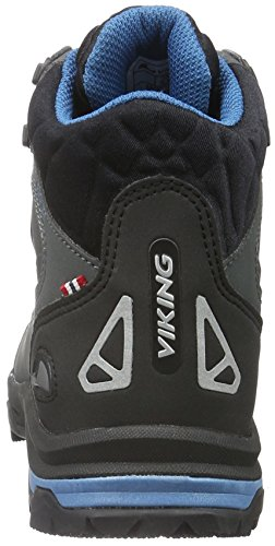 Viking Ascent Ii, Scarpe da Escursionismo Unisex – Adulto Nero (Schwarz (Black/Silver 246))
