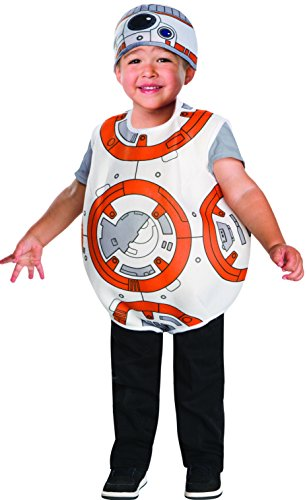 Kinder Kostüm Bb8 - Star Wars 7 The Force Awakens BB-8 Toddler Unisex Costume 4T