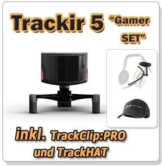 Trackir 5 Gamer Komplett Set inkl. TrackClip:PRO