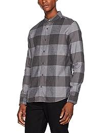 Calvin Klein Jeans Herren Freizeithemd Wilken Flannel Check Shirt L/S