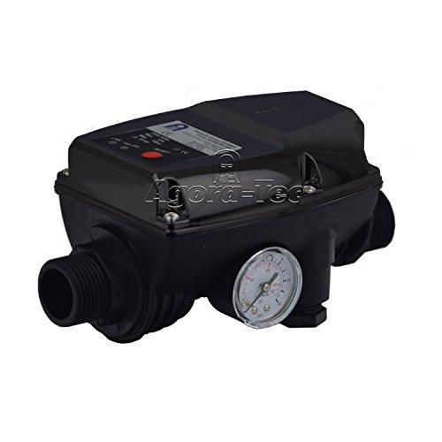 Agora-Tec Pumpen Druckschalter AT-DW-5 ohne Kabel zur Pumpensteuerung für Kreisel-, Tauch- Tiefbrunnenpumpen mit Betriebsdruck von 10 bar, AT 003 001