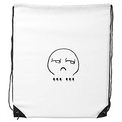 DIYthinker Silent-Schwarze netten Chat Emoji-Muster-Rucksack-Shopping Sport Taschen Geschenk