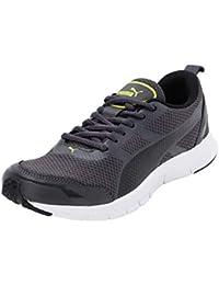 Puma Men's Track V2 Idp Asphalt Black-Blazing Sneakers