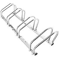 LARS360 ® Bicicleta Soporte para 4 bicicletas de suelo y pared montaje más soporte Triple Twin