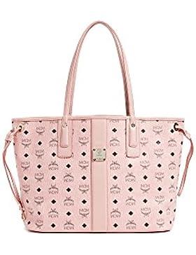 MCM Damen Reversible Shopper Liz Medium Soft Pink