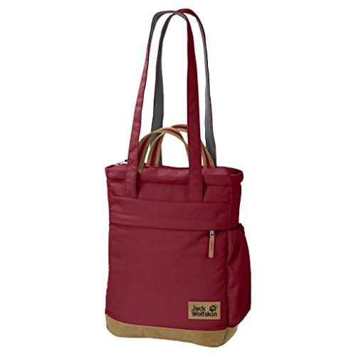 Jack Wolfskin Shoulder Bag Piccadilly Everyday Outdoor Poliestere 15.0 I 2150 dark red