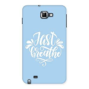 NEO WORLD Just Breath Snow Back Case Cover for Galaxy Note
