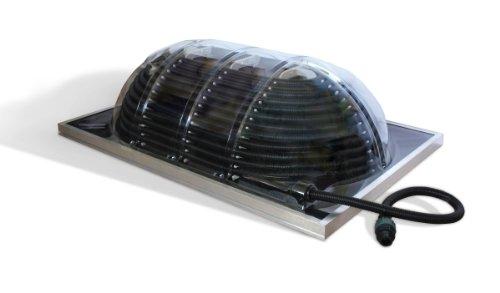 Poolheizung Palram Solar Aqua Dome Grand Solarkollektor und Schwimmbadheizung, Kuppelkollektor zur optimalen Ausnutzung des Sonnenverlaufs