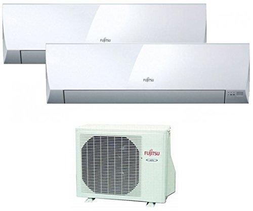 Fujitsu ASY25MI-LM+ASY35MI-LM+AOY 50 UiMI2 - Aire Acondicionado Multisplit 2X1 Inverter Asy3525U11I-Lm Con...