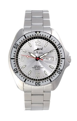Chris Benz One Man CBO-SI-SI-MB Men's Diving Watch