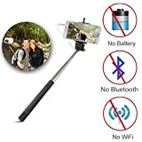 #9: SAMSUNG Galaxy J7 Compatible Ceritfied Selfie Stick Monopod Extendable With 3.5MM Aux Cable