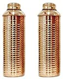#8: 100% Pure Copper Bislery Bottle Lining High Quality For Health Benefits, Set of 2