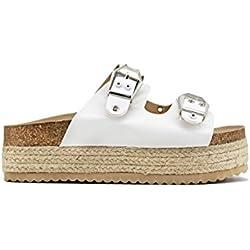 Alpargata altas estilo sandalias