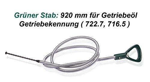 Getriebe Peilstab Getriebe Öl Messstäbe 920 mm lang Getriebekennung (722.7, 716.5) für Getriebeöl