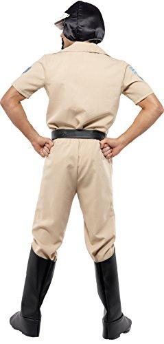 Imagen de smiffy's  disfraz de policía para hombre, talla l 36237  alternativa
