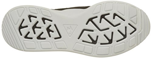 Le Coq Sportif Damen LCS R Flow W Suede/Satin Trainer Low Schwarz (Black)