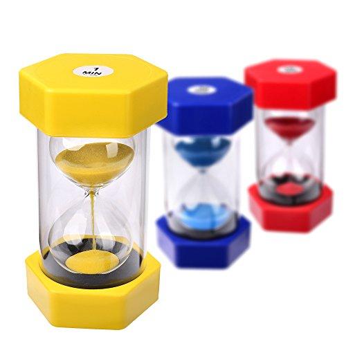 r 1 Minute Sanduhren Sandclock Eieruhr Sand Uhr Zeituhr Kurzzeituhr Sanduhr ()
