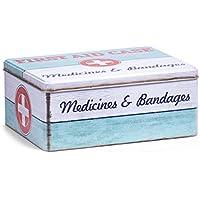 Zeller 19226 Medizin-Box First Aid, Metall, ca. 21 x 16,6 x 8,5 cm preisvergleich bei billige-tabletten.eu