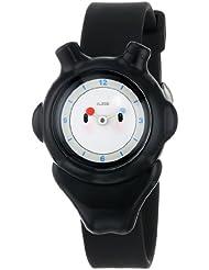 Alessi AL23002 - Reloj analógico automático infantil, correa de plástico color negro