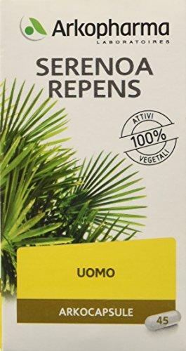Arkofarm - Complemento alimentare Arkocapsule Serenoa Repens, 45 capsule