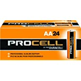 Duracell Procell PC1500 Alkaline-Manganese Dioxide Battery, AA Size, 1. 5V, 24 Count