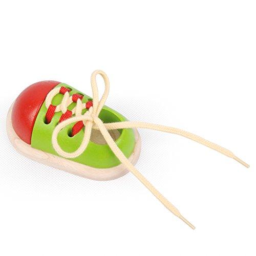 Imagen principal de Plan Toys - Ata el zapato, juguete educativo (5319)