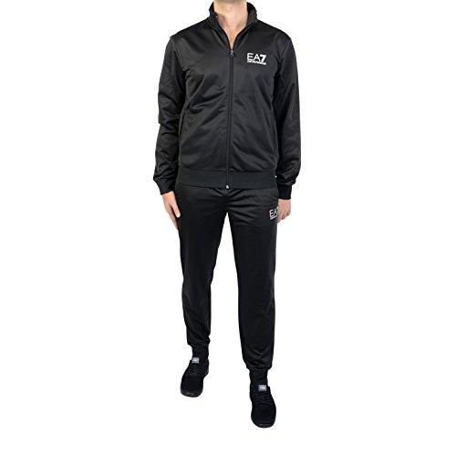 Emporio Armani EA7 Herren Jumpsuit fashion Anzug Sweatshirt Schwarz EU M (UK 38) 3ZPV70PJ08Z1200