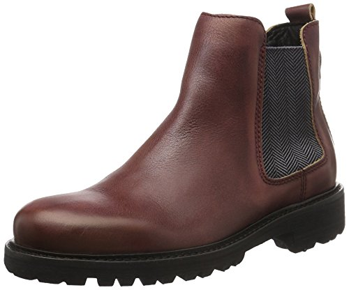 Femme 7a Classiques Rouge Tommy Jeans Rot 640 Cabernet B1385edford Bottes SxqfCw4