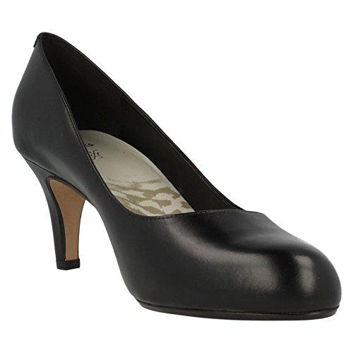Clarks Women's Arista Abe Shoes Black Size: 6