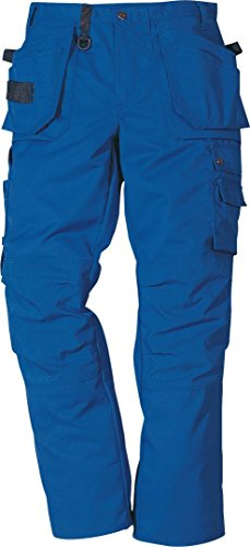 Fristad Kansas - Pro Trousers 241 PS25 Sz 34.5/88 Reg Royal Blue 100544-530 C50