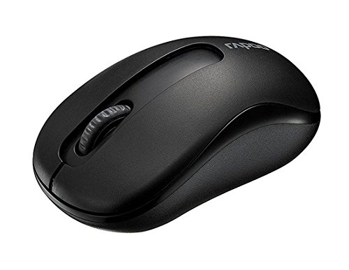 Rapoo M10 2.4G Wireless Optical Mouse 1000Dpi Long Battery Life (Black)  available at amazon for Rs.1034
