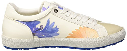 D'Acquasparta Tessa, Sneakers basses femme Avorio (Flower Of White)