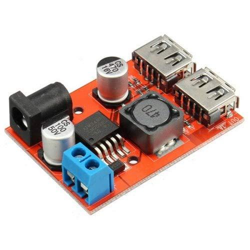 1. entrada: 6-40V (enchufe de 5.5 x 2.1 mm) 2. Output: 5V/3A MAX (para la resistencia de identificación del iPhone) 3. eficiencia: 92% máx 4. frecuencia de conmutación: 150KHz 5. temperatura de trabajo:-40 ° c -85 ° c 6. capacidad de carga: salida m...
