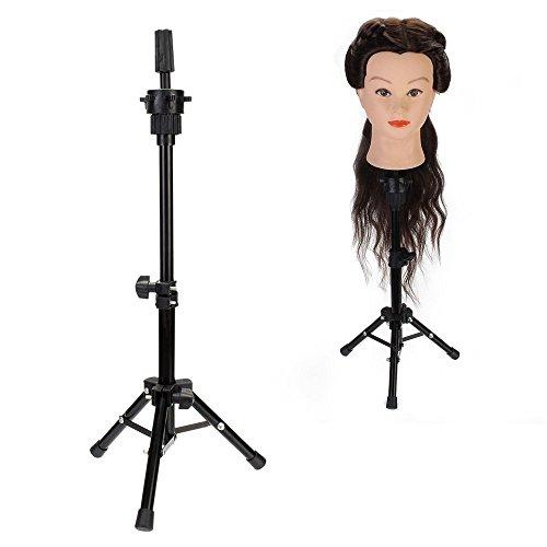 Neverland Beauty Mini Réglable Support à Trépied pour Têtes d'exercice Support Porte-coiffure sur Table
