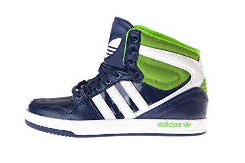 Adidas, Court Attitude K, Scarpe Per Bambini, Unisex - Bambino Dkblue/Ftwwht/Sesogr