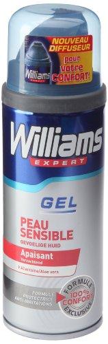 WILLIAMS - Gel à raser - Protect Gel - Peau Sensible - 200ml