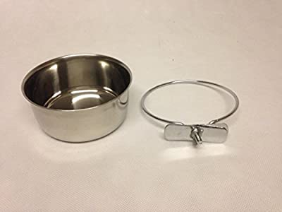 Bolt on Dog Bowl 20 oz for Cages and Crates